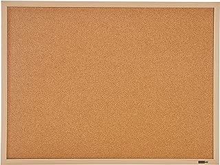 INNOVART Bulletin Board, Cork Board, 3 ' x 2', 36