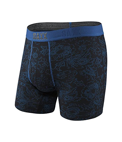 Paisley UNDERWEAR Azul Boxer Platino Fly SAXX Negro nOWq8a6g