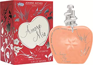 Jeanne Arthes Amore Mio Passion 100ml Mujeres - Eau de parfum (Mujeres 100 ml Envase no recargable Mandarin Frambuesa...