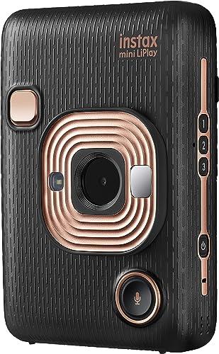 Fujifilm Instax Mini Liplay Hybrid Fujifilm Instax Mini Liplay Hybrid Instant Camera, Elegant Black, Elegant Black (8...