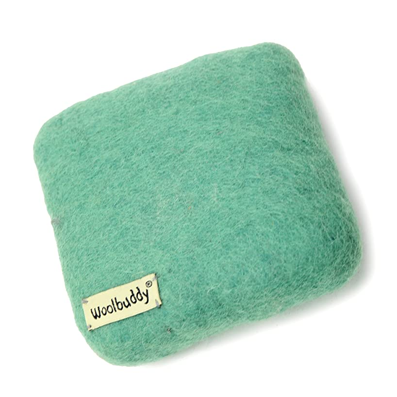 Woolbuddy Needle Felting 100% Woolen Mat (Teal)