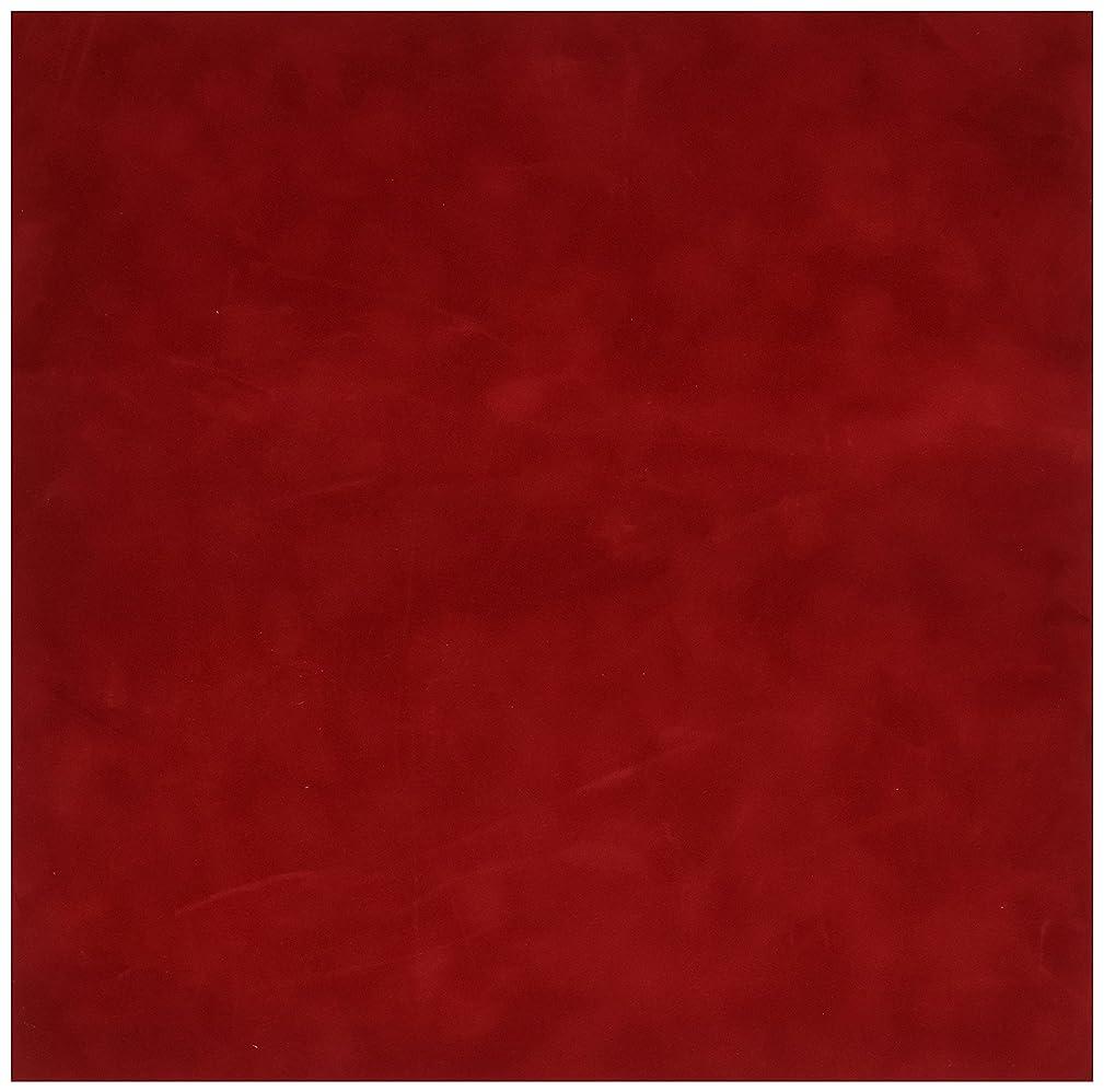 Sew Easy Industries 12-Sheet Velvet Paper, 12 by 12-Inch, Blaze