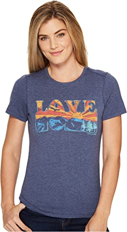 Life is Good - Love Mountain View Cool Tee