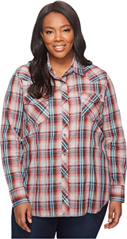 Roper Plus Size 1237 Fall Plaid