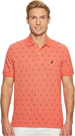 Short Sleeve Printed Deck Polo