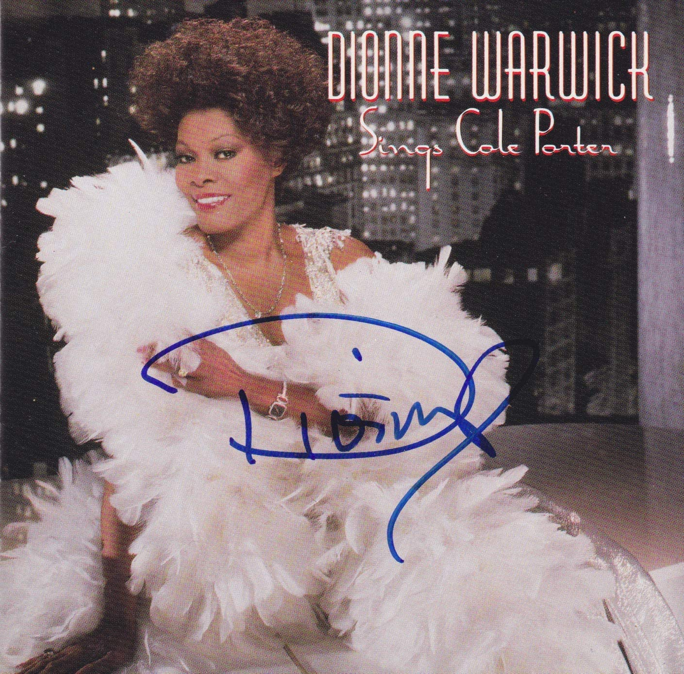Dionne Warwick signed Super beauty product restock quality Discount mail order top CD