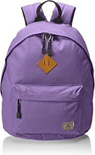 (One Size, Eggplant Purple) - Everest Vintage Backpack