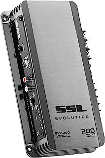 Sound Storm Laboratories EV2.200 Evolution 200 Watt, 2 Channel, 2 to 8 Ohm Stable Class A/B, Full Range Car Amplifier, Gun...