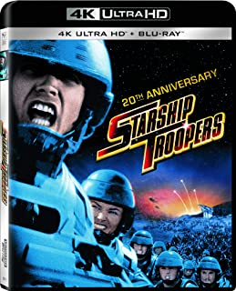 Starship Troopers 20th Anniversary (4K Ultra HD + Blu-ray + UltraViolet)