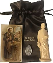 Westmon Works Saint Joseph Home Selling Kit with Instructions Holy Card Medal and Burial Bag Bundle