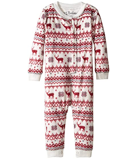 P.J. Salvage Kids Fair Isle Romper (Infant) at 6pm