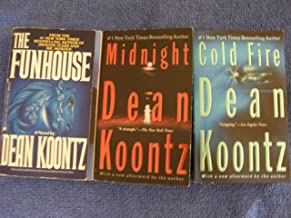 3 Book Set By Dean Koontz ( Cold Fire Midnight, the Funhouse)