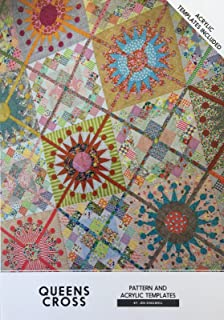 Queens Cross Jen Kingwell Designs Quilt Pattern with Acrylic Templates