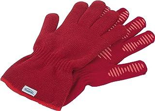 Trudeau 09911024 Kitchen Gloves, M-L, Red