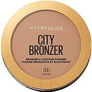 Maybelline New York City Bronzer Powder Makeup, Bronzer and Contour Powder, 300, 0.32 Ounce