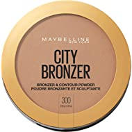 Maybelline New York City Bronzer Powder Makeup, Bronzer and Contour Powder, 300, 0.32 Ounce