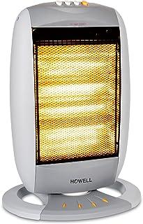 Howell HO.SA1806 1800W Halógeno - Calefactor (Halógeno, Piso, Botones, 1800 W, 450 W, 220-240)