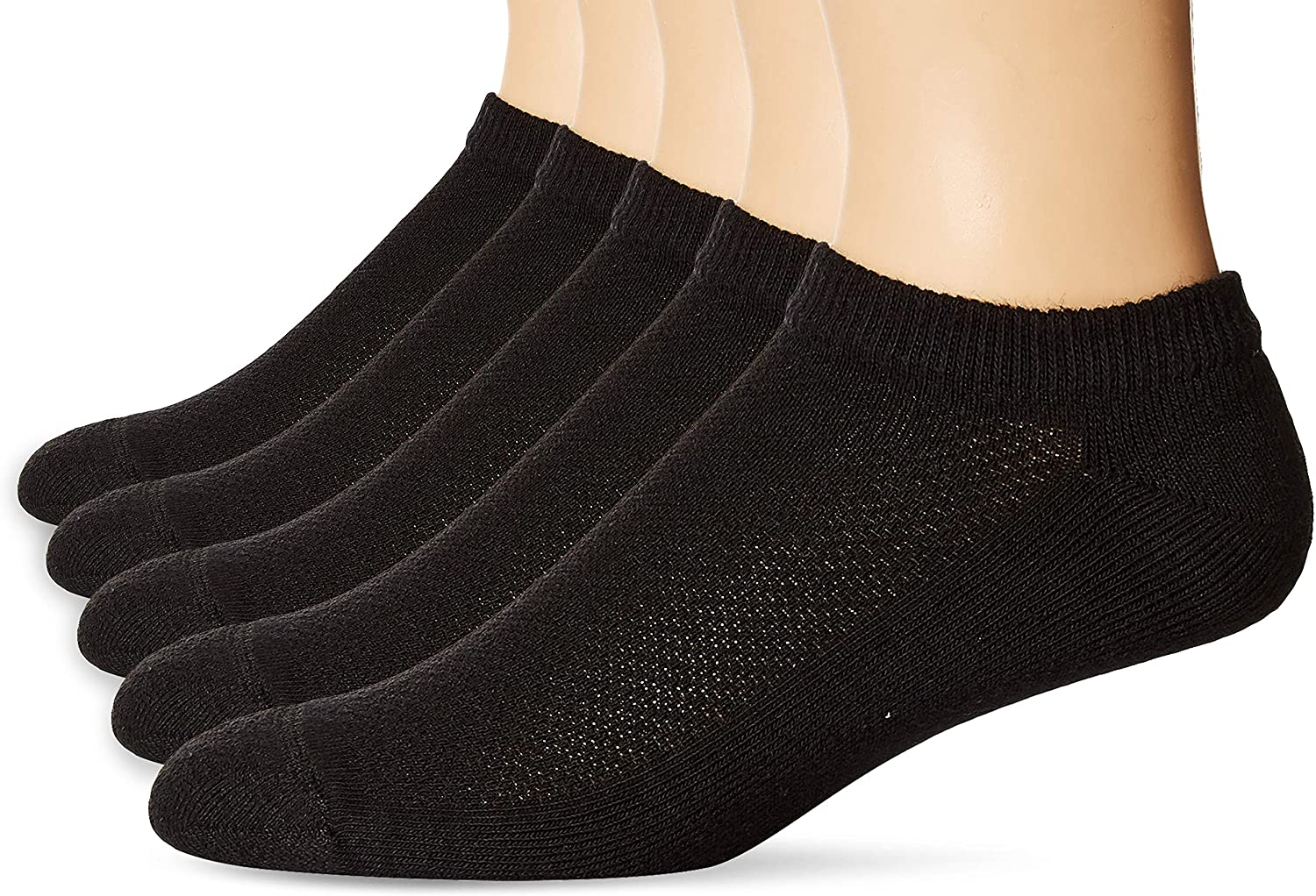 Hanes Men's 5-Pack Ultimate FreshIQ X-Temp No S Free shipping anywhere in the nation Show Shoe Indianapolis Mall Socks