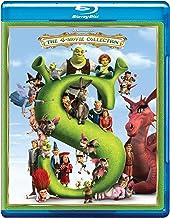 Shrek Quadrilogy: 4 Movies Collection - Shrek + Shrek 2 + Shrek: The Third + Shrek Forever After (4-Disc Box Set)