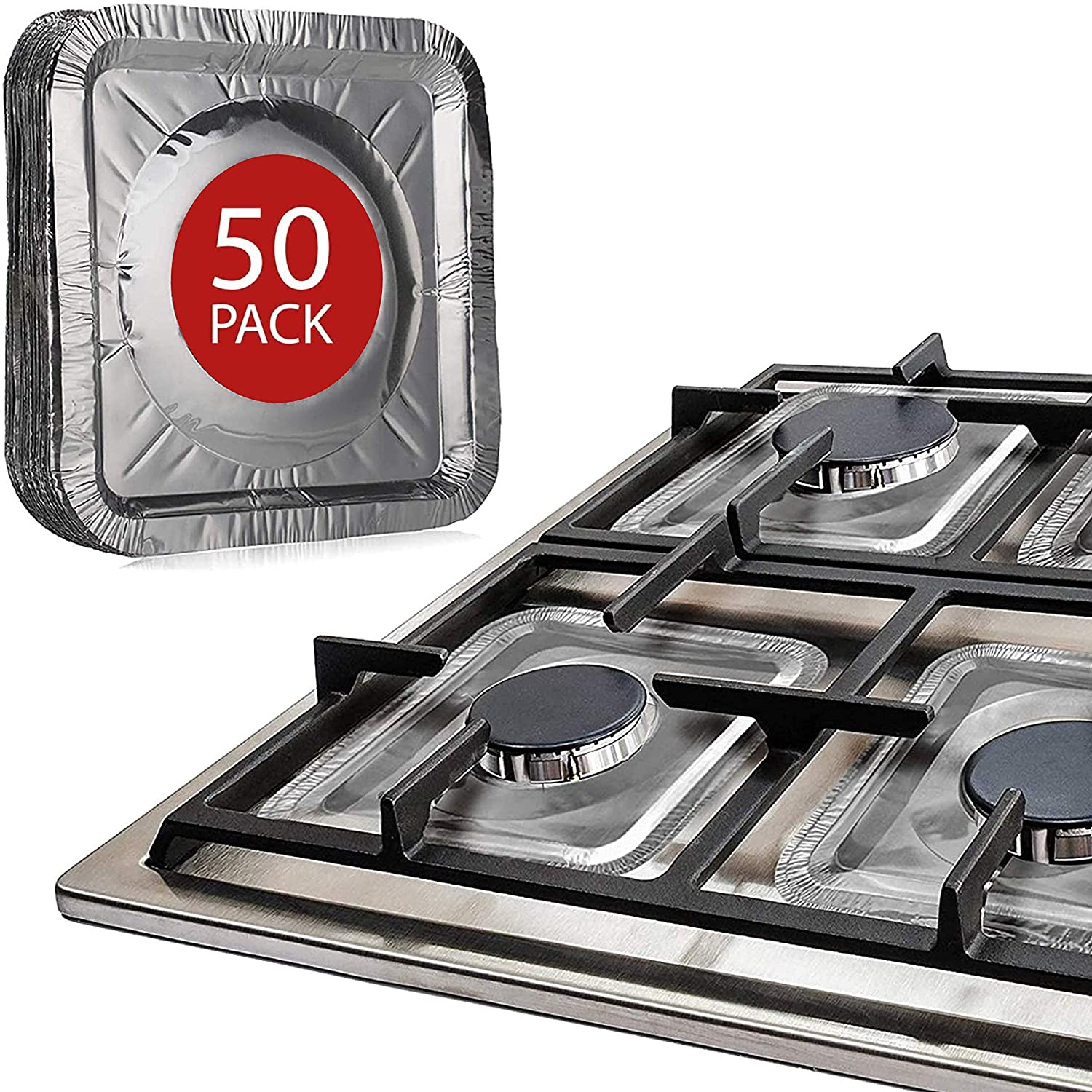 Gas Stove Burner Covers by Linda's Kansas City Mall D Industry No. 1 50 Essentials Pack