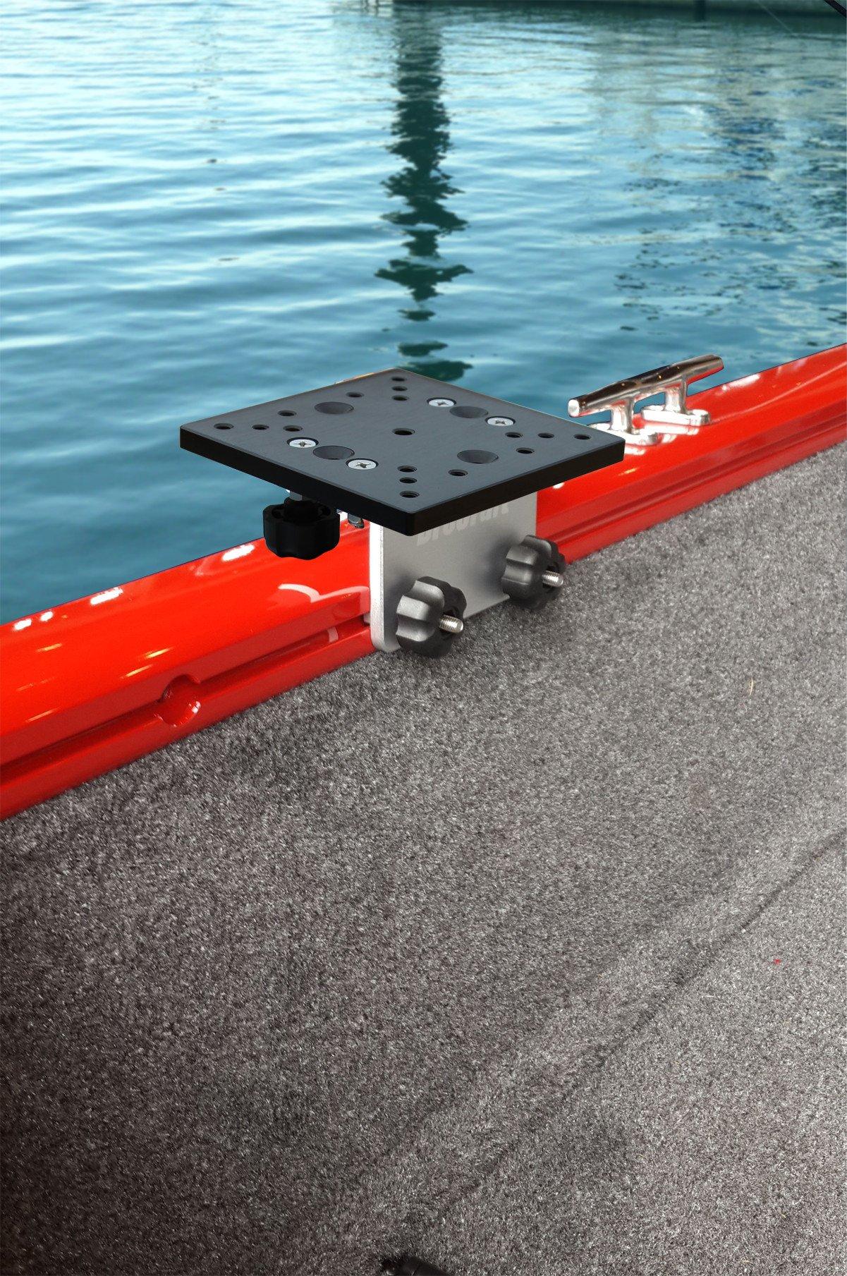 tracker boat accessories amazon combrocraft universal track bracket for tracker boat versatrack system lund sport track