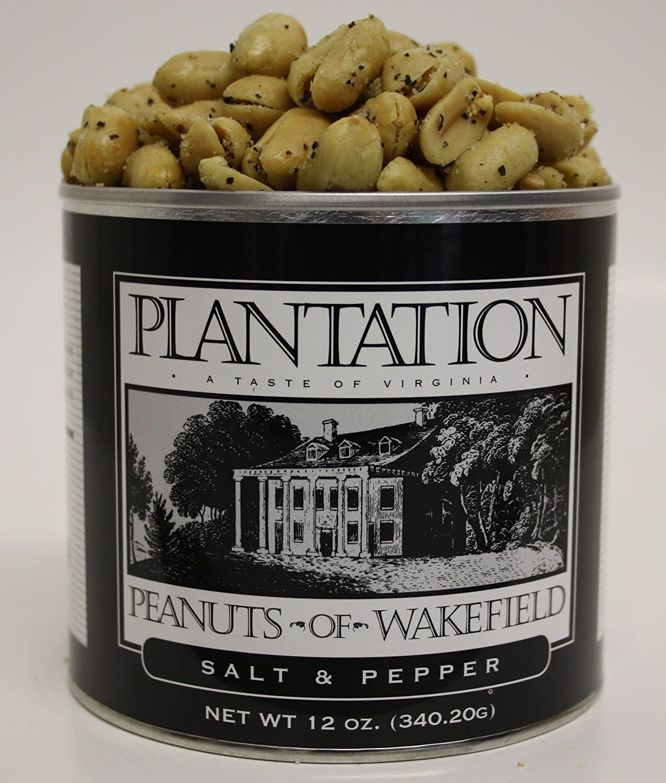 Salt OFFicial mail order 5 popular Pepper Peanuts - ounce 12 tin