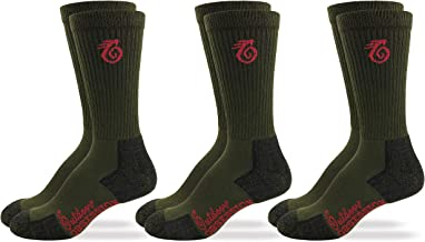 Outdoor Obsession Mens Insect Shield Crew Socks 3 Pair Pack