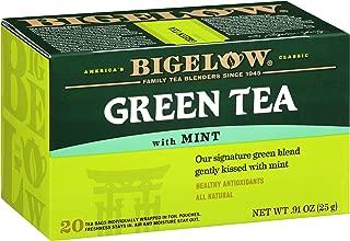 Best green tea with mint bigelow Reviews