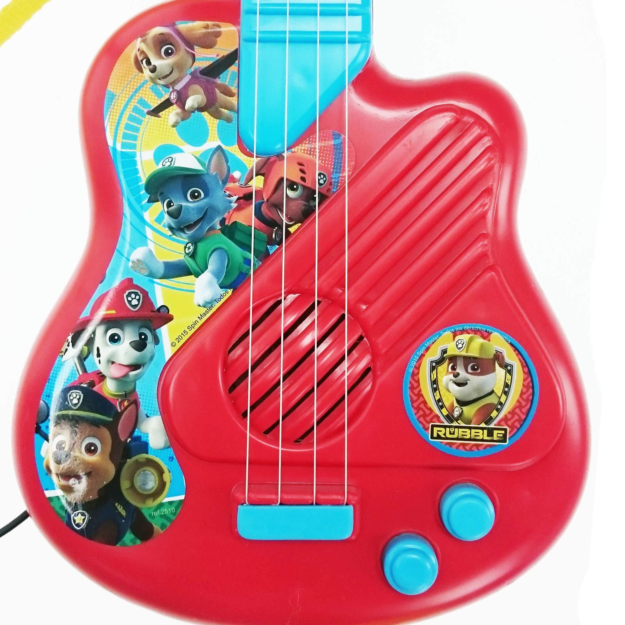 Patrulla Canina Paw Patrol Micro y Guitarra (Claudio Reig 2510 ...