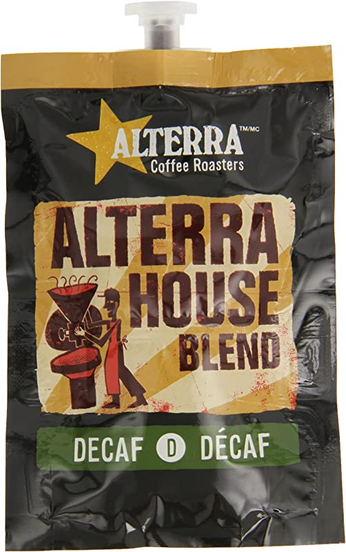 FLAVIA ALTERRA Coffee House Blend Decaf 20 Count Fresh Packs Pack Of 5