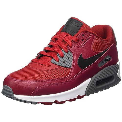 huge discount 989a8 e1105 Nike Men s Air Max 90 Essential Low-Top Sneakers