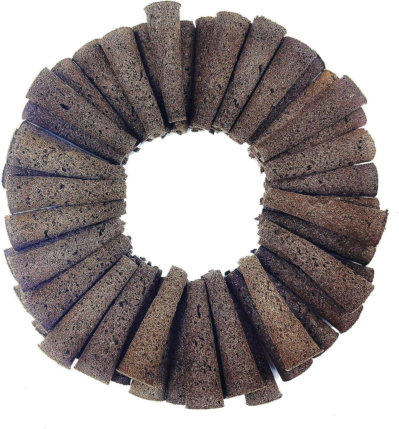 60 Park Grow Sponges for Hydroponics Pods Compatible with Aerogarden Pods and Idoo Pods-Round