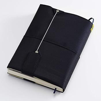 フリーサイズブックカバー[フリーサ] 布地で薄型軽量!【文庫・新書・B6・四六、ハードカバー・A5・菊版対応】 (ブラック)