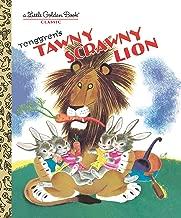 أسمر مصفر scrawny Lion (القليل من Golden كتاب)