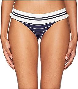 Rib Knit Trim Bikini Bottom