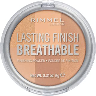 Best Rimmel LONDON Lasting Finish Breathable Finishing Powder, 002 Dawn, 0.28 Ounce Review