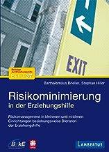 Risikominimierung in der Erziehungshilfe: Risikomanagement in kleineren und mittleren Einrichtungen beziehungsweise Dienst...