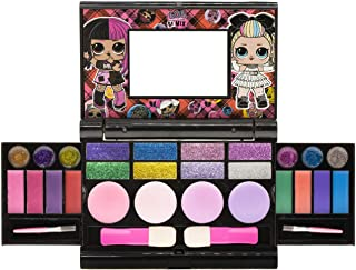 Townley Girl L.O.L Surprise Cosmetic Compact Set with Mirror 22 Lip glosses, 4 Body Shines, 6 Brushes Colourful Portable F...