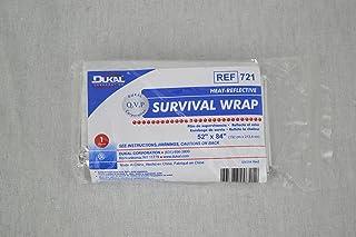 Heat Reflective Emergency Blanket/Survival Blanket by Dukal