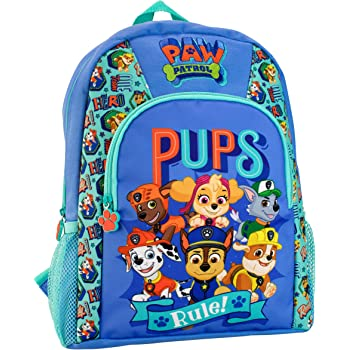 Personalised Kids Backpack Any Name Paw Patrol Girl Childrens School Bag