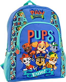 Paw Patrol Kids Chase Marshall Rubble Backpack