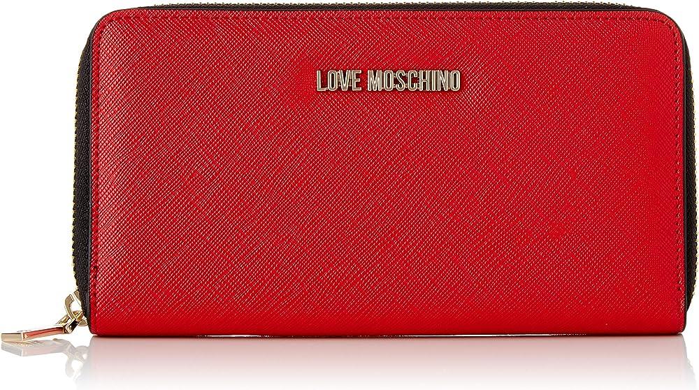 Love moschino portafogli da donna porta carte di credito in ecopelle AS21MO08