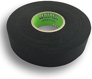 "Renfrew, Cloth Hockey Tape, 1"" (Straight Edge Black, 30yd)"