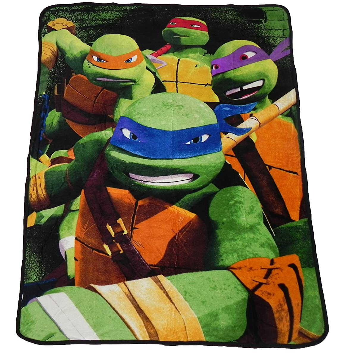 Teenage Mutant Ninja Turtles Micro Raschel Throw - 46