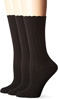 Women's Scallop Pointelle Sock 3-Pack
