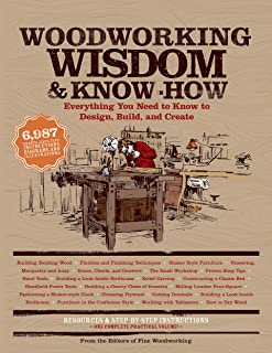Woodworking Wisdom & Know-How: Everything You need to Design, Build and Create (Wisdom & Know-How)