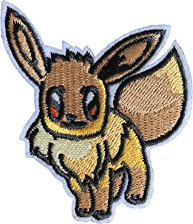 Eevee Embroidered Iron/Sew on Patch - 3
