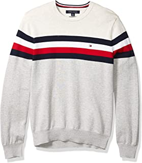 Men's Stripe Crewneck Sweater
