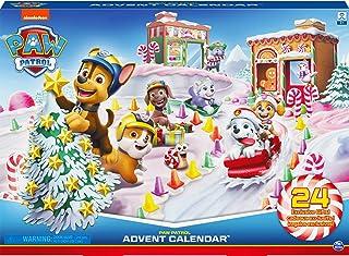 LA PAT' PATROUILLE – CALENDRIER DE L'AVENT PAT' PATROUILLE – Calendrier Avent pour Noël composé de Figurines et d'Accessoi...