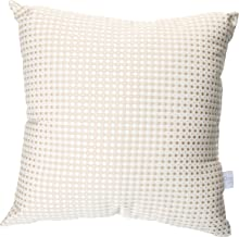 product image for Glenna Jean Central Park Pillow, Tan/White